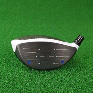 Max Golf Driver Fairway Fairway Set De Club De Golf 1/3/5 avec Couvercle De Tête De Tensi Graphite (Color : 9D 3W 5W Flex SR)
