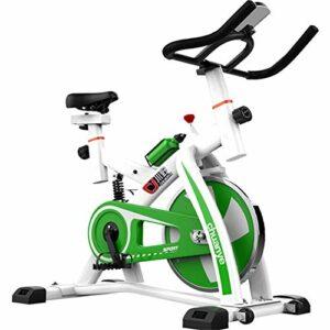 MJ-Sports Vélo vélo d'intérieur Formateurs de vélo résistance Infinie Volant 8 kg avec Moniteur Multifonctionnel et Amortisseur de Printemps Bouteille Conduite par Sport Bouteille