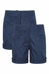 Mountain Warehouse Shore Girls Short Multi Pack Bleu Marine 7-8 Ans