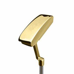 NgMik Compenses de Golf de Golf Golf Club Golf Unisexe Fairway à Droite Réglable Coupe Rapidement Les Coups (Color : Gold, Size : One Size)