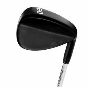 NgMik Compenses de Golf de Golf Golf Unisexe Conduire régulièrement Le Club de Golf du Club de Golf à Droite Coupe Rapidement Les Coups (Color : Black, Size : One Size)