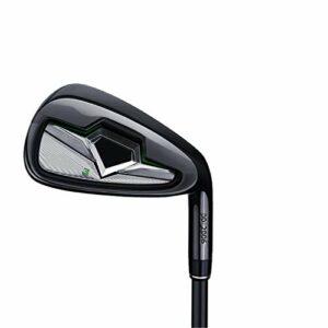 NgMik Compenses de Golf de Golf Golf Wedges Club de Golf Junior Unisexe Droite Main Droite Coupe Rapidement Les Coups (Color : Black, Size : One Size)