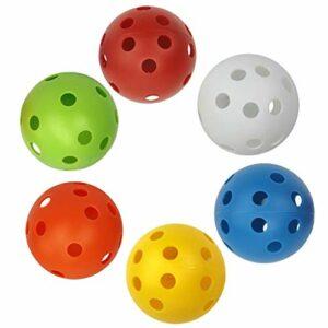 P Prettyia 6-Pack Balles de Golf Plastique Coloré