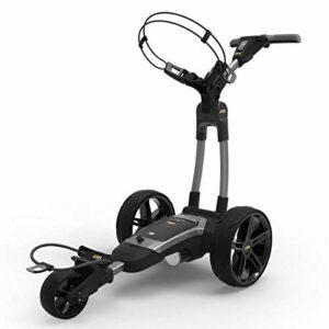PowaKaddy Chariot de golf unisexe FX5 36 trous au lithium – Gun Metal – Taille unique