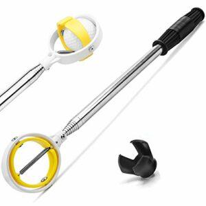 prowithlin Retriever de balle de golf extensible, en acier inoxydable, pour les bushes d'eau, crocodile, ramassage de balle de golf, cadeau pour homme, accessoires de golf pour homme (9)