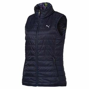 PUMA 2019 Pwrwarm Veste de golf réversible pour femme, Femme, 573285, Peacoat, xl