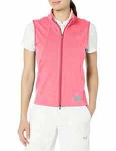 PUMA Golf 2020 Cloudspun Gilet Femme Rapture Rose Heather Double X Large