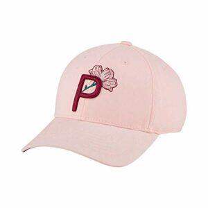 PUMA Golf 2021 Mother's Day P Hat (Women's, Cloud Pink, One Size)