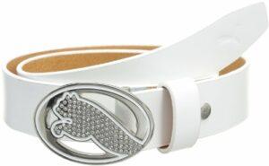 Puma Golf Ceinture de golf Femme Blanc FR : M (Taille Fabricant : 35)