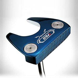 Putter de club de golf PGM intégration CNC en acier inoxydable pour homme et femme Bleu