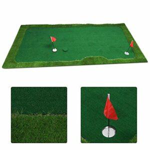 Putter Simulator Golf Putting Simulator Facile à Entretenir, pour l'intérieur et l'extérieur(1.0×3m)