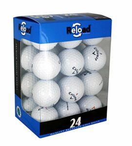 Reload Lot de 24 balles de golf recyclées Callaway Taille unique