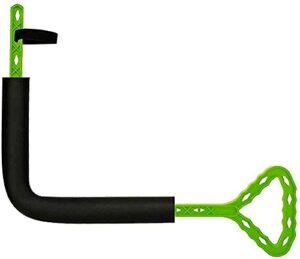 Rotateur de golf Swinging Exercice Swing intérieure Correction d'action forfaitaire, Équipement d'entraînement Aide à la formation d'un débutant,Green