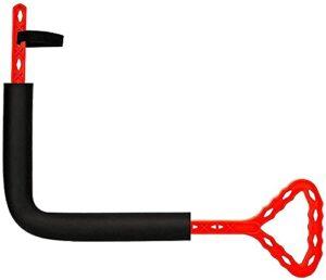 Rotateur de golf Swinging Exercice Swing intérieure Correction d'action forfaitaire, Équipement d'entraînement Aide à la formation d'un débutant,Red