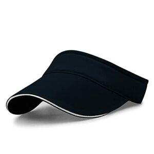 RYSEVE Casquette de tennis pour femme, casquette de baseball, de golf, convient pour le tennis et le golf – Bleu – M/L