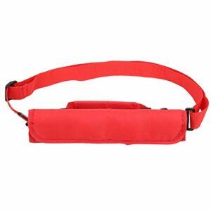 Sac à bandoulière pour Club de Golf, Sac de Club, Sac d'entraînement Lavable, Practice en Tissu Rouge/Noir pour Un Voyage Rapide(Red)