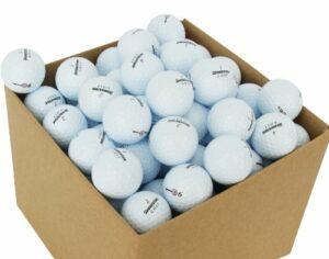 Second Chance Bridgestone 100 Balles de golf Récupération Qualité supérieure Grade A