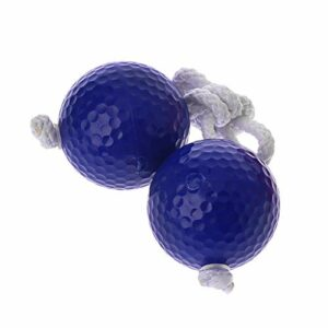 SHESSTILL Balle de Golf à échelle Chaude de 42 mm, brins de bola, Rouge Bleu, sortez, pratiquez la Balle de chaîne de 6 mm
