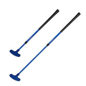 SunniMix Golf Putter Enfants Droit/Gaucher pour Adultes Femmes Hommes Enfants Jeunes Club Intérieure/Extérieure, Bureau, Accueil Cour Putting Green Putt Putt – Bleu