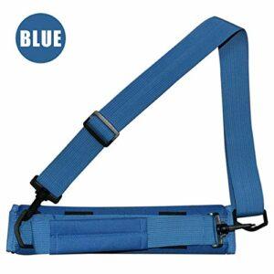 TOPmountain Mini sac de golf léger pour 3-4 clubs, sac de transport avec bretelles pour femme et homme – Style durable – Noir/bleu/rose