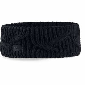 Under Armour Women's Around Town Headband, Black (001)/Black, One Size Fits All