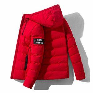 Veste matelassée en molleton pour hommes Plus Hiver de l'hiver épais Télécharger des vêtements en coton pour hommes Court chapeau veste hiver épais veste épaississante de mode coréenne Veste de coton