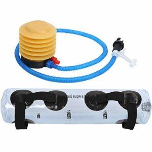 VGEBY Sac à Eau de Poids, Sac d'eau de Poids de Yoga Pliant en PVC Sac à Eau D'haltérophilie pour Muscle de Force D'entraînement de Remise en Forme