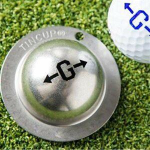 XIUNIA Acier Inoxydable De Golf Marqueur Marqueur Marqueur Outil Balle De Golf Marqueur Personnalisé Outil Dalignement