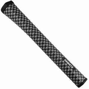 yamato Poignées de putter de golf, ultra légères, antidérapantes, lavables, souples, avec forme de pistolet ergonomique pour améliorer le retour et l'adhérence – 5 couleurs en option (blanc)