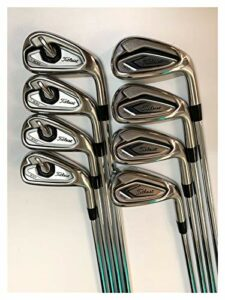 YDL Hommes Golf Club 8pcs Golf Iron MP20 Irons Set Golf Foregge Forge Golf Clubs De Golf 3-9P R/S Flex Shaft Atouche avec Couvercle De La Tête (Color : Mp20 NS Pro 950 S)