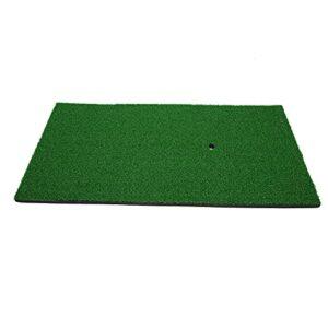 01 Tapis d'entraînement de Golf, Tapis d'herbe en Nylon Tapis de Frappe Pratique Tapis de Golf Facile à Nettoyer Finition exquise pour Balcon pour Salon