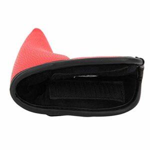 Accessoire de Golf Couvre-tête de Golf Confortable pour protéger Les têtes de Club des dommages(L Type/Red)