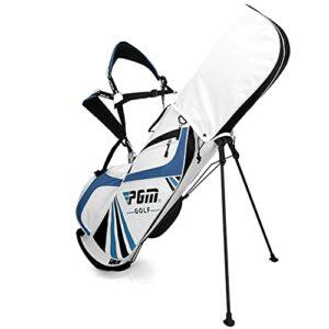 ACXZ Sac de Golf avec diviseurs à 6 Voies, Sac de Transport de Golf portés épaule, Sac de Rangement de Golf en Nylon imperméable pour Femmes Hommes (2,55 kg)