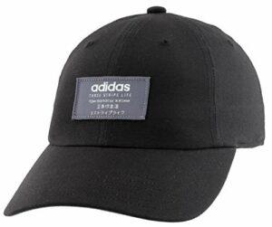 adidas Casquette Impulse pour femme, Femme, Bonnet, Impulse Relaxed Adjustable Cap, Black/ Onix, taille unique