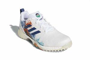 adidas Codechaos Chaussures de Golf Homme Blanc, 47 1/3