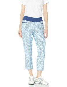 adidas Pantalon de Cheville imprimé pour Femme, Femme, Pantalon, TW6004S20, Teinte Ciel, s