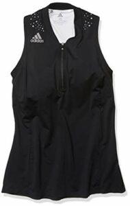 adidas Polo à Dos Nageur pour Femme XL Noir