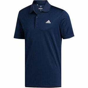 adidas Polo Performance pour homme sur la poitrine gauche, Homme, Polo, Performance Polo Left Chest, Bleu marine, Large