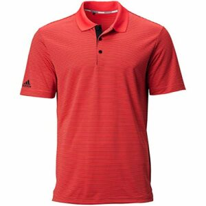 adidas Polo Ultimate365 pour Homme – Rouge – Large