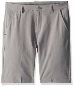 adidas Solid Short de Golf pour garçon, Fille, Short, TB6300S9, Trois Gris, s