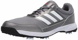 Adidas Tech Response 2.0 Chaussure de golf pour homme, gris (Gris métallisé/gris 6.), 43.5 EU