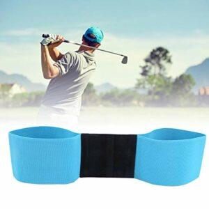 Aide à la Formation de Swing de Golf Aide à la Formation de Swing de Golf Ceinture de Correction de Posture de Golf pour la Formation de Swing de Golf(Navy Blue)