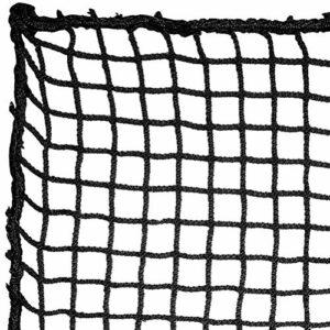 Aoneky Filet de Golf Practice 3x3M/3×4,5M, Maille Carrée 2,5×2,5cm, Corde 3mm – Golf Hitting Net pour l'Entraînement du Golf, Baseball, Hockey Intérieur Extérieur Jardin(3×4,5M)