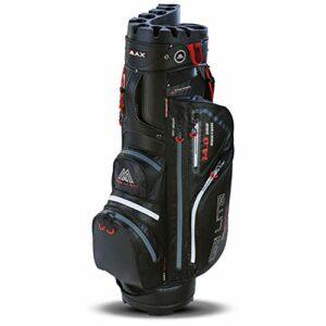BigMax DriLiteSilencio Sac de golf imperméable, Adulte (unisexe), Noir