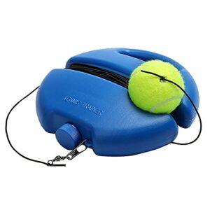 Bomoya Plinthe de tennis avec 1 balle de rebond, équipement d'entraînement pour entraînement de tennis pour débutants et adultes