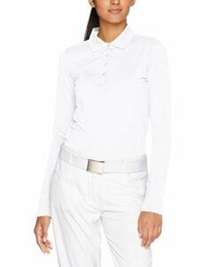 BRAX Golf Style Susanna Polo, Snow, S Femme