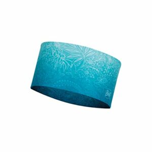Buff Blossom Turquoise Bandeau Coolnet UV+ Femme, FR Unique Fabricant : Taille One sizeque