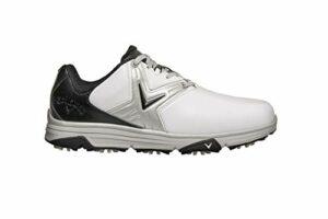 Callaway M585 Chev Comfort Golf Shoe, Chaussures Homme, Blanc/Noir, 42.5 EU