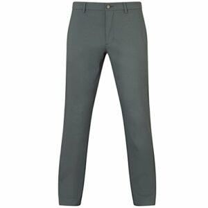 Callaway Oxford Printed Trouser Pantalon de Golf, Noir, 38W / 30L Homme