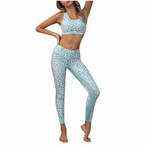 CXDS Short de course à pied pour femme avec poches Taille haute Contrôle du ventre Pantalon de sport Camouflage